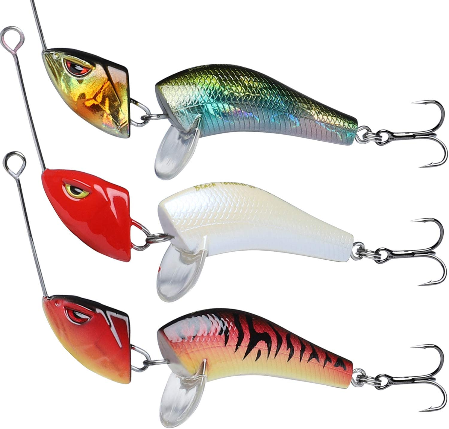 Fishing Lures for Bass Trout Segmented Multi Jointed Swimbaits