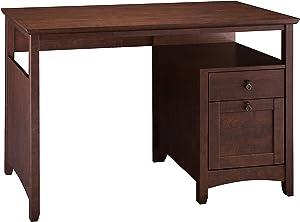 Bush Furniture Buena Vista Home Office Desk in Madison Cherry