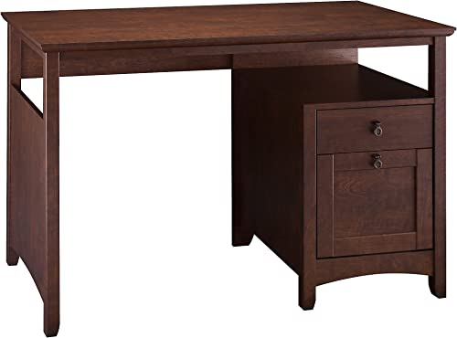 Bush Furniture Buena Vista Home Office Desk in Madison Cherry