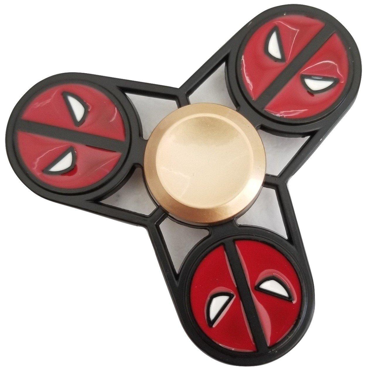 Metal Fidget Spinner Relieve Stress Reduce Anxiety Deadpool Spinner Toy dp2