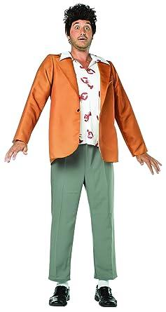Rasta Imposta Menu0027s Seinfeld Kramer Costume Brown One Size  sc 1 st  Amazon.com & Amazon.com: Rasta Imposta Menu0027s Seinfeld Kramer Costume Brown One ...