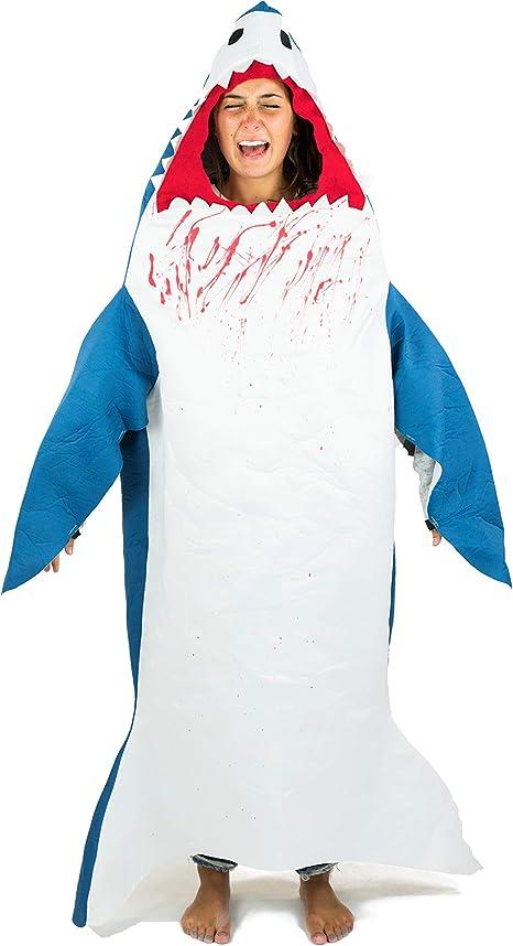 Bodysocks® Disfraz de Tiburón Adulto: Amazon.es: Juguetes y juegos