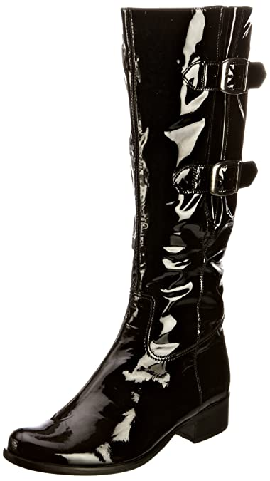 7a5fed1dbed Gabor Women's Verano Patent Knee High Boots