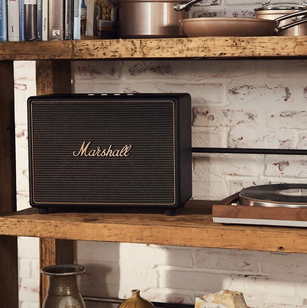Marshall Woburn Altavoz Multi-Room Wi-Fi y Bluetooth - Negro (UK ...