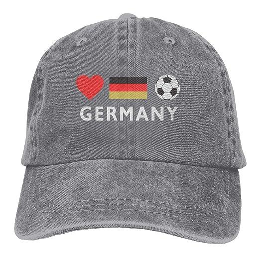 CH CAP Unisex Baseball Cap Germany Football German Soccer Adjustable Jean  Dad Hat for Men 1aafe36971c