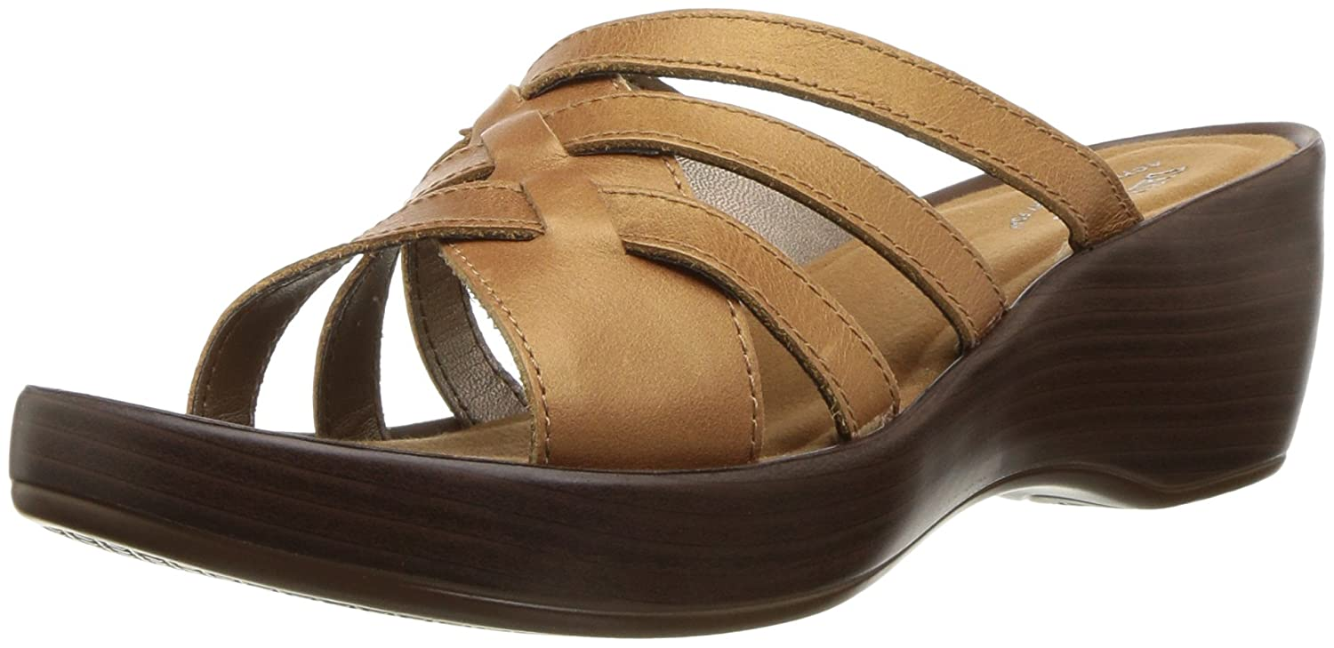 Eastland Women's Poppy Sandal B076QN9THG 9 W US|Tan
