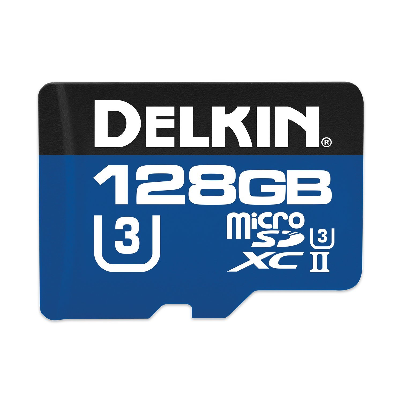 Delkin microSDXC 1900X UHS-I/UHS-II (U3) Memory Card, 128GB (DMSD1900128G) by Delkin