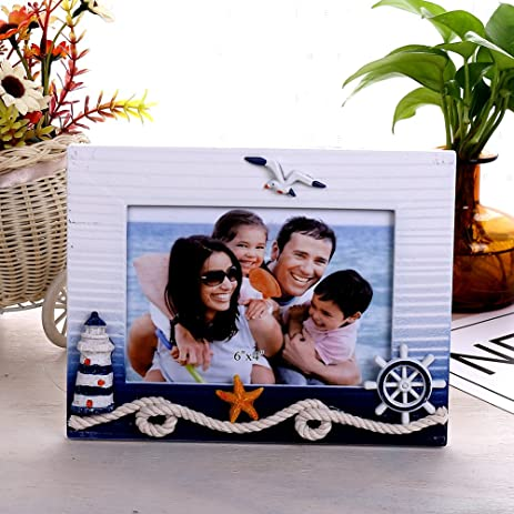 Amazon.com: 6x4 inch Size Wood Frame for Mediterranean ,Display ...