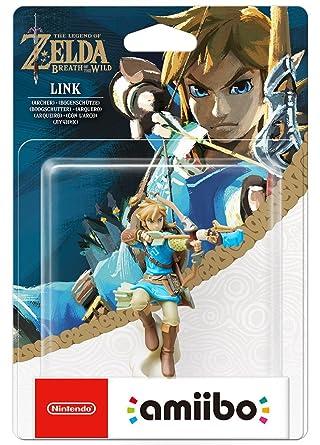 Nintendo - Figura Amiibo Link Arquero Serie Zelda: not ...