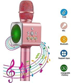 Beste Geburtstagsgeschenke Kinder Wireless Portable Handheld Bluetooth Karaoke Mikrofon Cytk Toys Geschenke Fur 3 12 Jahrige Madchen Karaokemaschinen