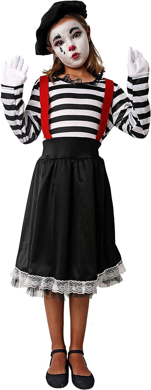 Costumizate! Disfraz de Mimo Talla 5-6 Especial para niños Fiestas ...