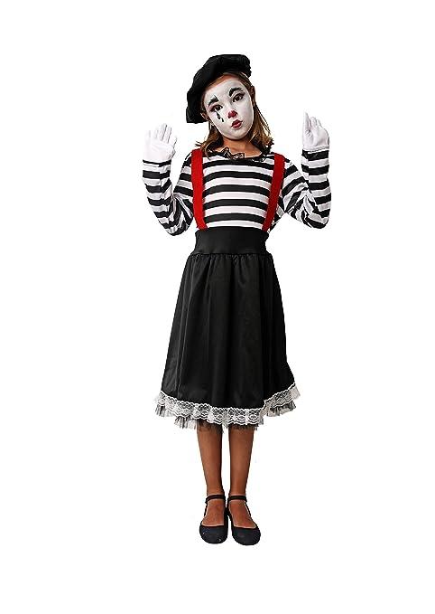 Costumizate! Disfraz de Mimo Talla 7-9 Especial para niños Fiestas ...