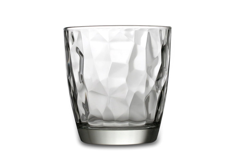 Conjunto de 6 sencillos vasos de agua.