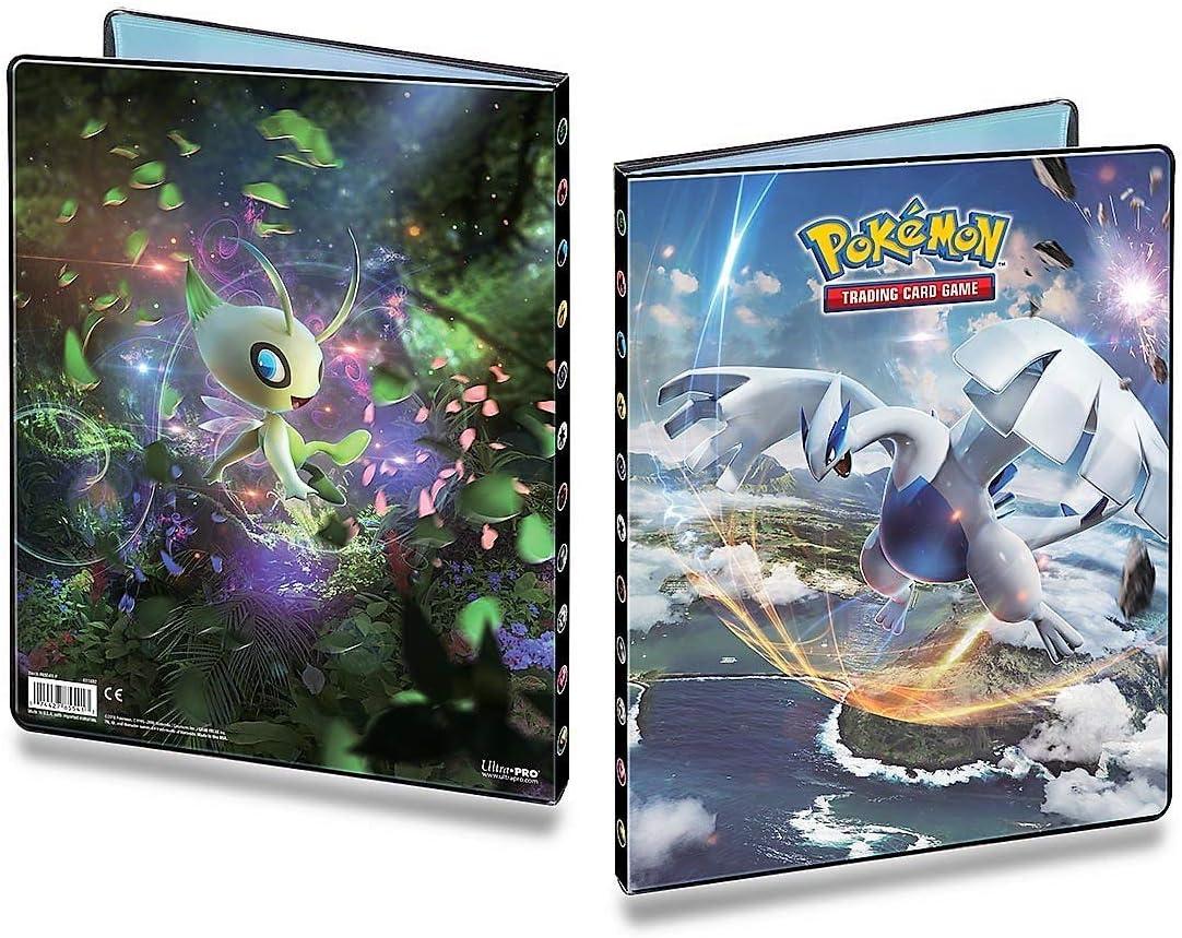 Pok/émon 85879-P Ultra Pro-4 Pocket Portfolio-Pokemon Sun and Moon 9 Cartes /À Collectionner