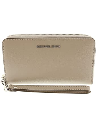 4855ebfa6af9 Image Unavailable. Michael Michael Kors Jet Set Travel Large Flat  Multifunction Phone Case ...