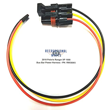 amazon com polaris pulse busbar accessory power wiring  polaris rzr auxiliary wiring harness