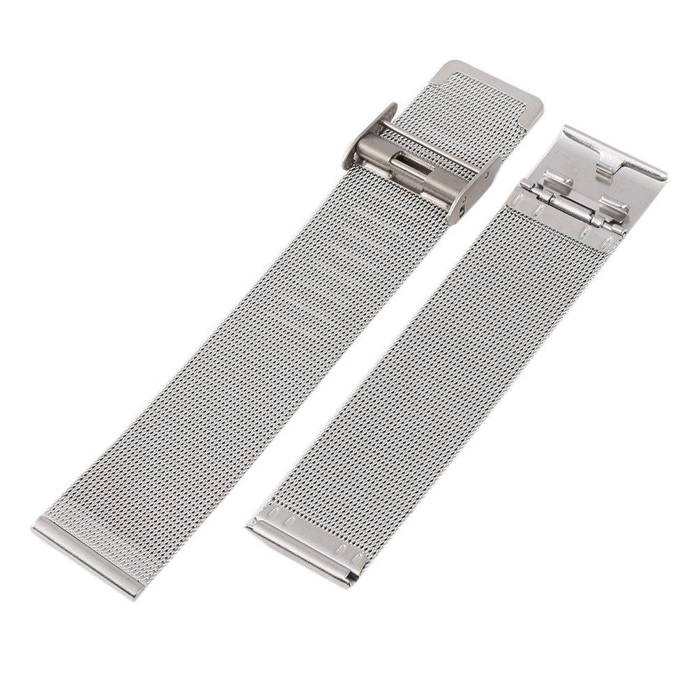 Wingbind Ultra Thin Mesh Edelstahl Uhr Ersatzband Uhrenarmband 12mm 14mm 16mm 18mm 20mm 22mm 24mm