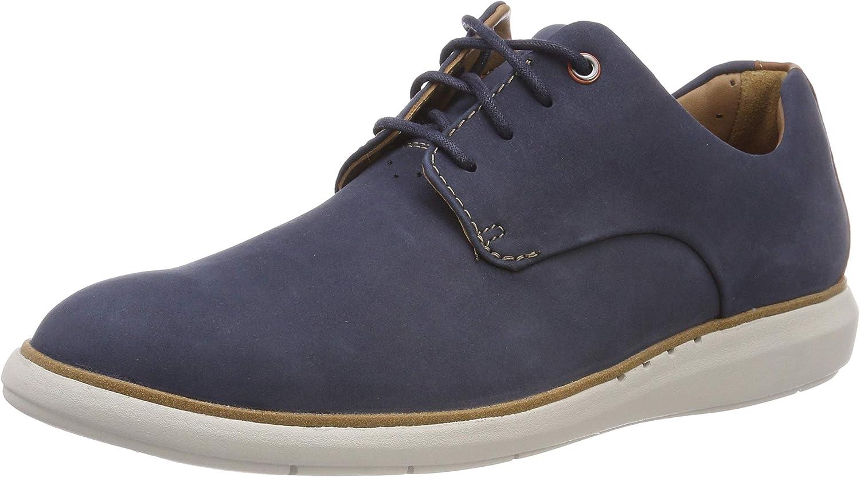 TALLA 42.5 EU. Clarks Un Voyage Plain, Zapatos de Cordones Derby para Hombre