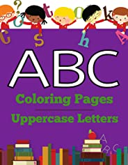 ABC Coloring Pages | Uppercase Letters