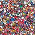 S&S Worldwide Faceted Acrylic Gemstones, 1/2 Lb. (Bag of 2000)
