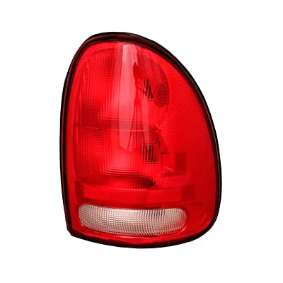 Passenger Side Taillight Tail Light Lamp for 1996-2000 Chrysler Town & Country, Dodge Caravan, Plymouth Voyager, 1998-2003 Dodge Durango CH2801125 V4576244AB: Automotive