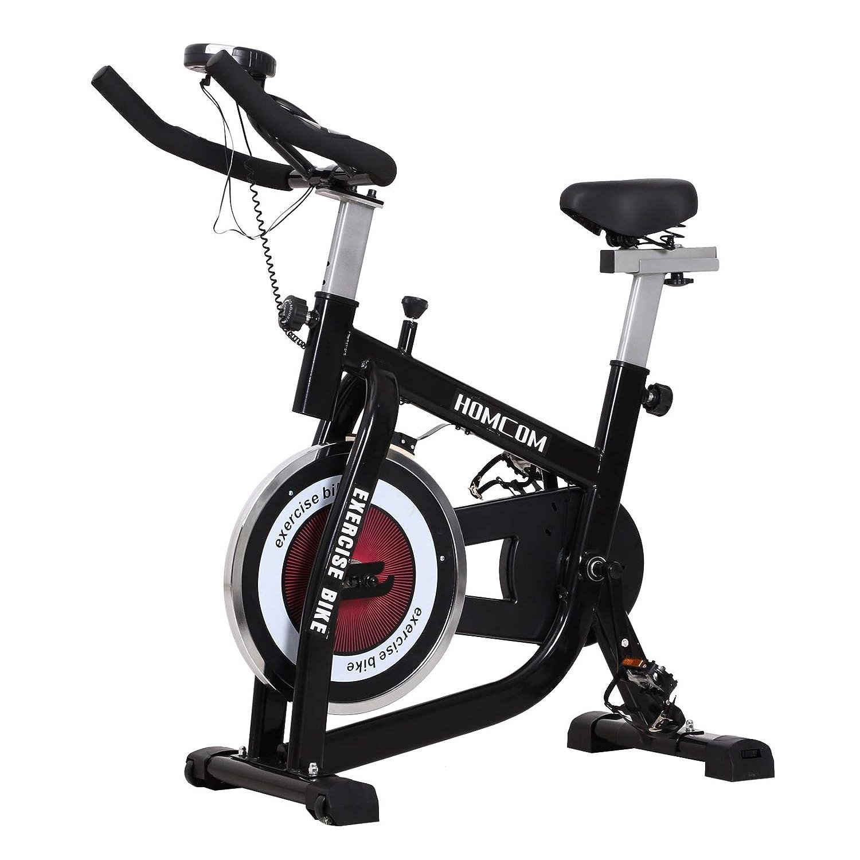 HOMCOM - Bicicleta estática Cardio Biking 104 x 47 x 107 cm ...