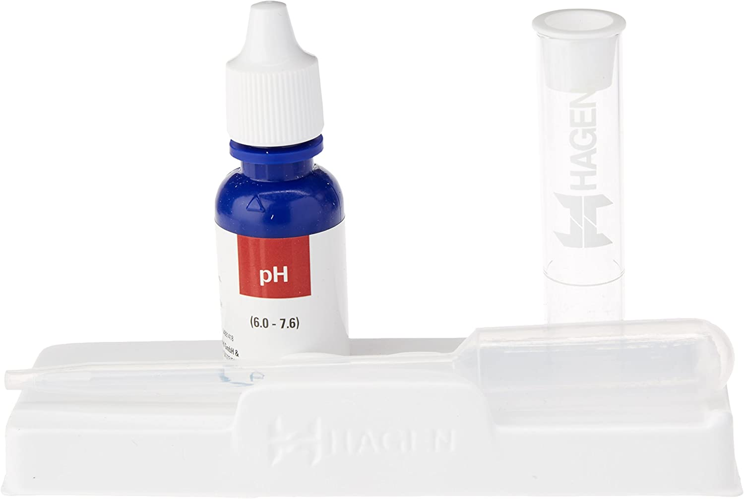 pH Low Range 6.0-7.6 for Freshwater, 225-Tests