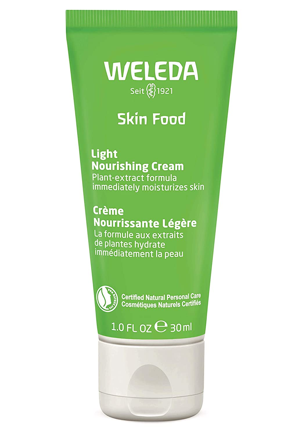 Weleda Skin Food Light Nourishing Cream Small, 1.0 Fluid Ounce