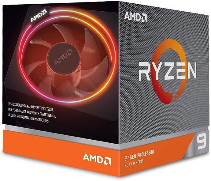 AMD 锐龙9 3900X 处理器 7nm 12核24线程 3.8GHz 盒装CPU 8.4折$419.99 海淘转运到手约¥2997