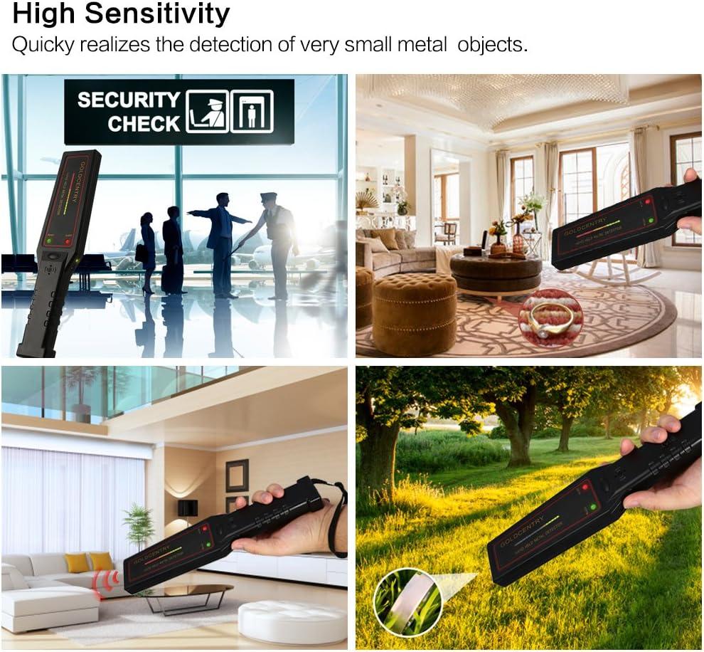 Etbotu Detector de metales de seguridad, escáner de alta ...