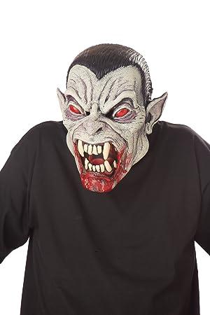 California disfraz accesorio Halloween adulto máscara Ani-Motion Vampire Dracula multicolor multicolor talla única