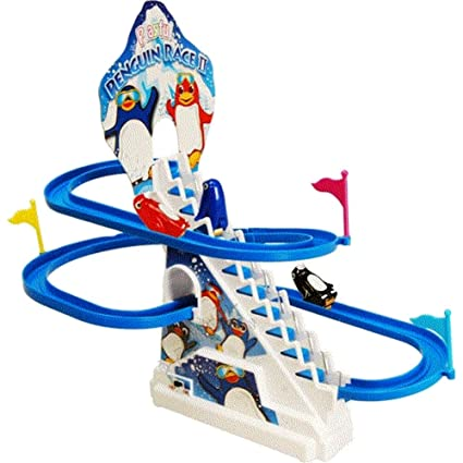 Symbol Of The Brand Playful Penguin Race Ii Electronic, Battery & Wind-up
