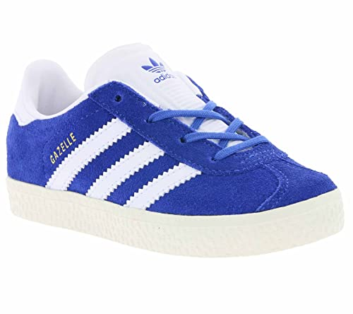 huge selection of 6e901 bb509 adidas Gazelle, Sneakers Basses Mixte Enfant, Blau, 27 EU