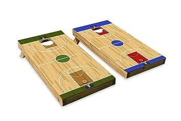 Awesome Amazon Com Basketball Court Design Cornhole Bean Bag Toss Inzonedesignstudio Interior Chair Design Inzonedesignstudiocom