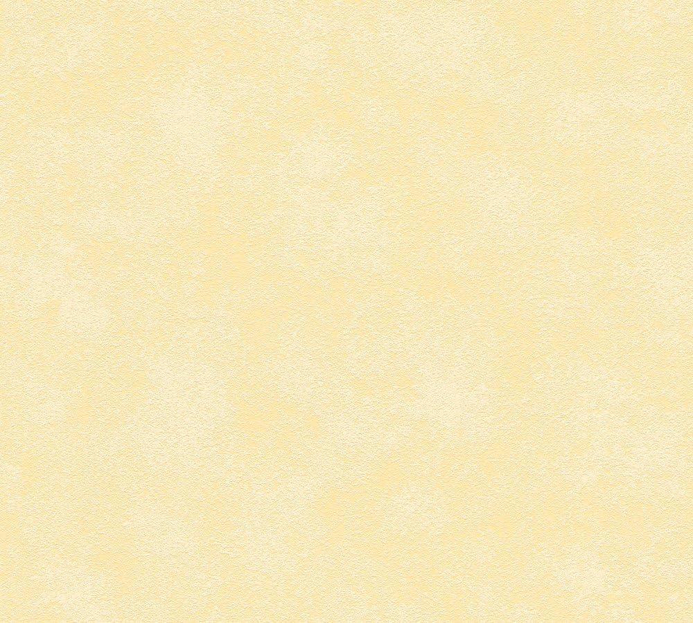 Esprit Vliestapete Play in Summer Tapete Uni gestreift 10,05 m x 0,53 m gelb Made in Germany 936199 93619-9