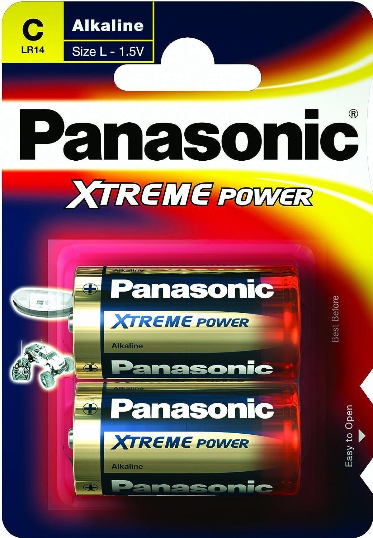 Panasonic Xtreme Power C Lr14 Battery 2 Pack Amazon Co Uk Camera