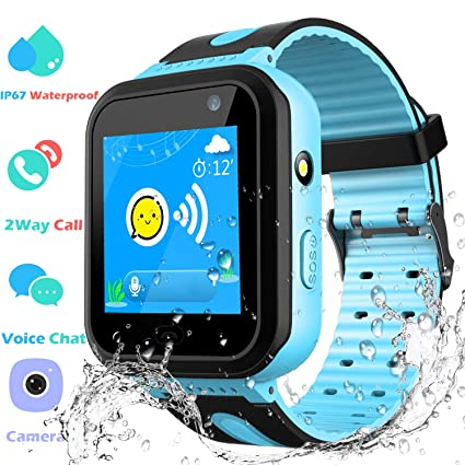 Amazon.com: Waterproof GPS Tracker Watch for Kids - IP67 ...