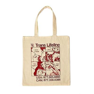 Trans Lifeline Tote Bag - Original Design by Carta Monir