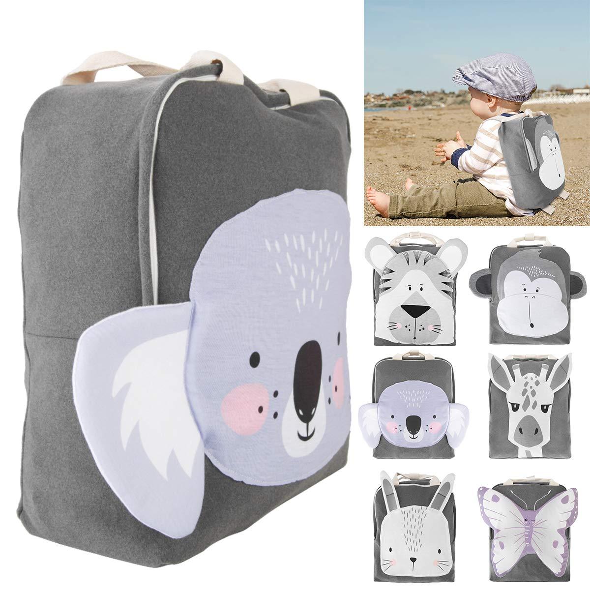 Mochila para beb/é dise/ño de animales mariposa para ni/ños de 0 a 3 a/ños Ruiqas Koala