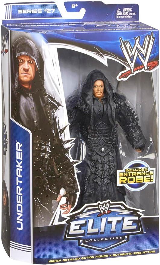 WWE Elite 27 Undertaker w// Entrance Robe Wrestling Action Figure Kid Child Toy