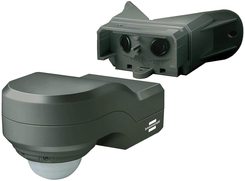 IP44 Brennenstuhl Bewegungsmelder Infrarot // Bewegungssensor f/ür Au/ßen und Innen Farbe: wei/ß 240/° Erfassungswinkel und 12m Reichweite