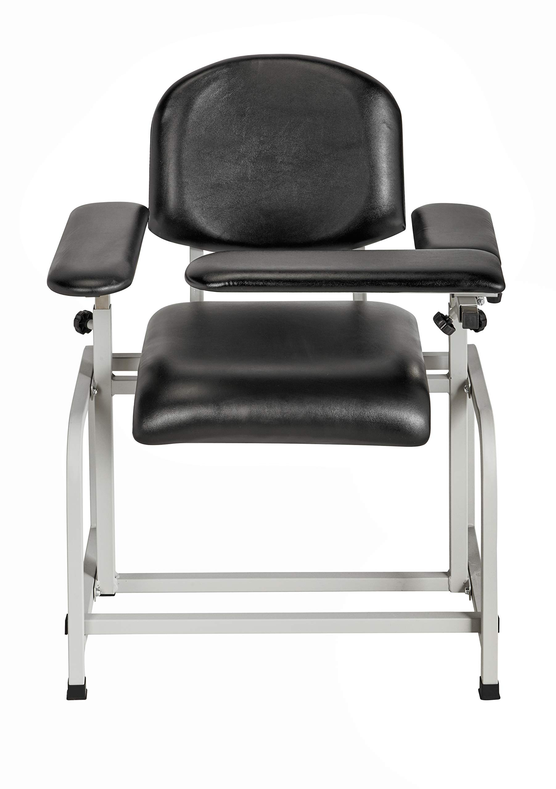 AdirMed Padded Blood Drawing Chair (Black)