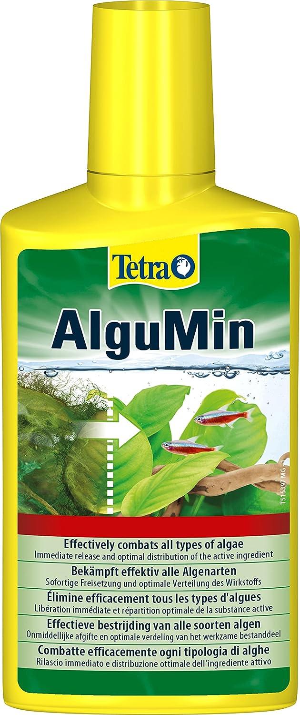 Tetra - AlguMin, Trattamento Biologico Anti-alghe, combatte efficacemente Tutti i Tipi di alghe, prevenzione e Azione Rapida, 250 ml