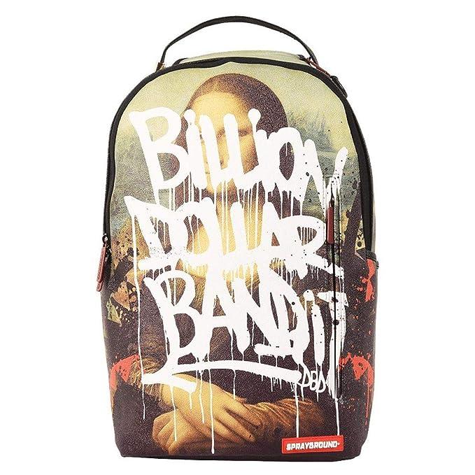 Amazon.com | Sprayground Unisex-Adult Mona Lisa Vandal Backpack One | Kids Backpacks