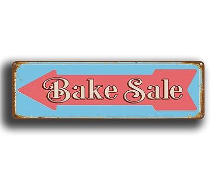amazon com bake sale directional sign bake sale arrow sign