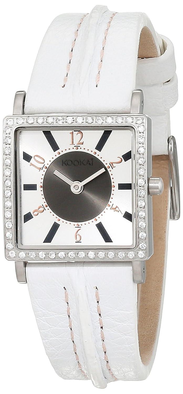 Kookai Damen-Armbanduhr Analog Quarz Leder SPE1617-0002