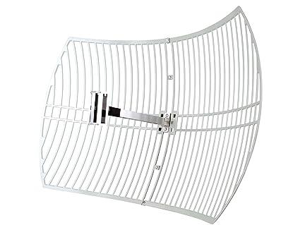 bf01cf23710304 Amazon.com: TP-Link 2.4GHz 24dBi Directional Grid Parabolic Antenna ...