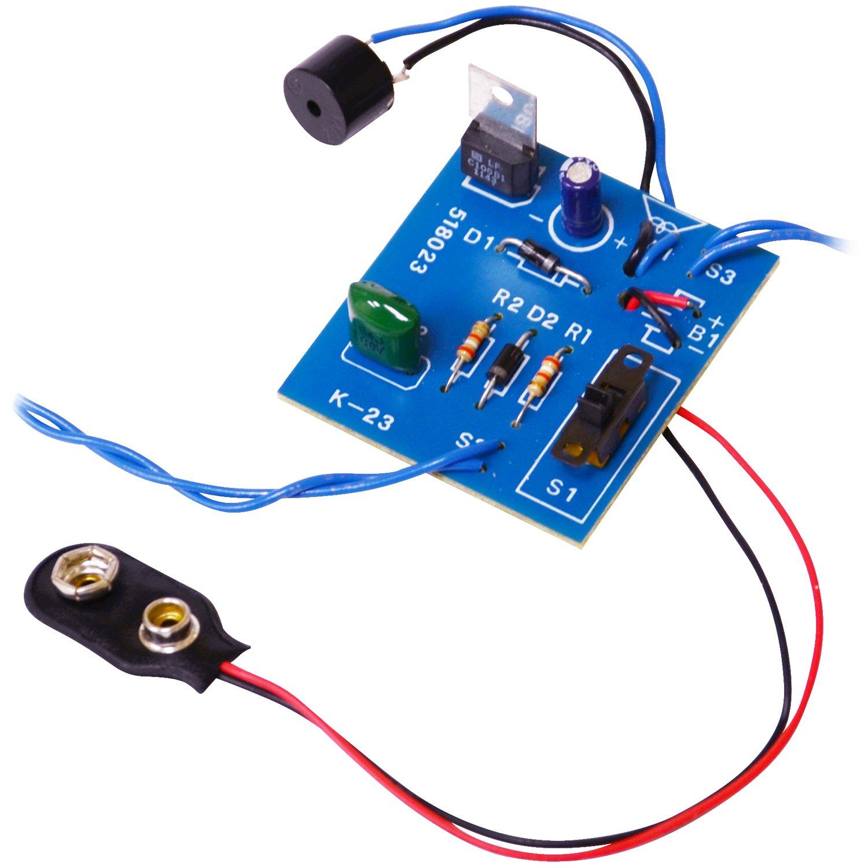 Elenco  K-23 Burglar Alarm Soldering Kit  [ SOLDERING REQUIRED ] Elenco Electronics Inc