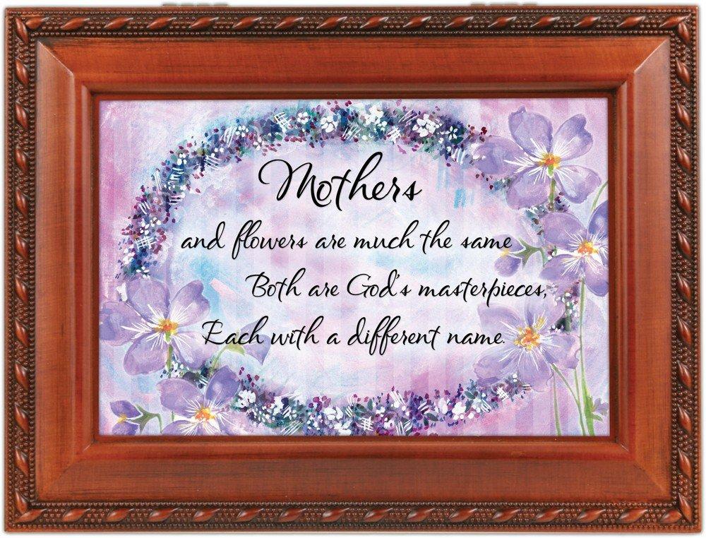 全ての Mothersと花Woodgrain Cottage Up B0090R4RSA Garden Traditional MusicボックスPlays Light Cottage Up My Life B0090R4RSA, VC工業株式会社:e35c9b9a --- arcego.dominiotemporario.com