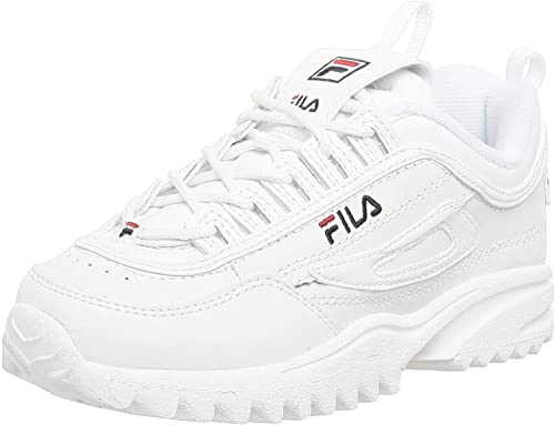 Fila Youth Disruptor II Leather Trainers FW02945-111